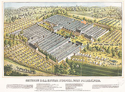 Satterlee U.S.A. General Hospital, West Philadelphia.