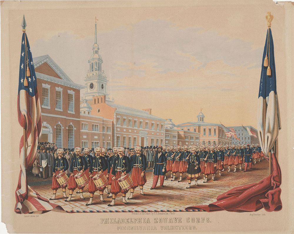 Philadelphia Zouave Corps., Pennsylvania Volunteers.
