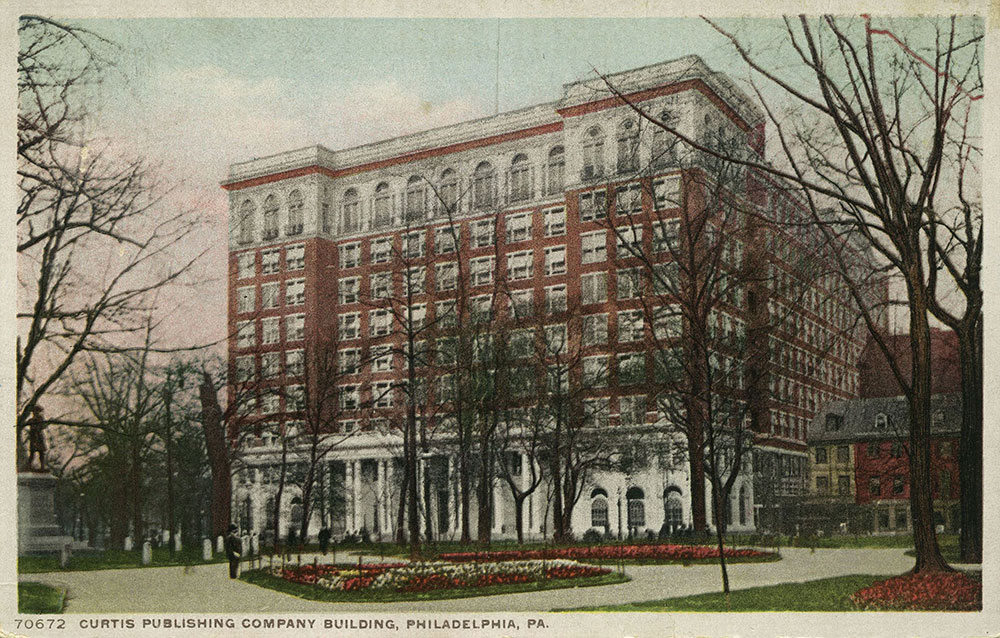 Curtis Publishing Company Building - Postcard
