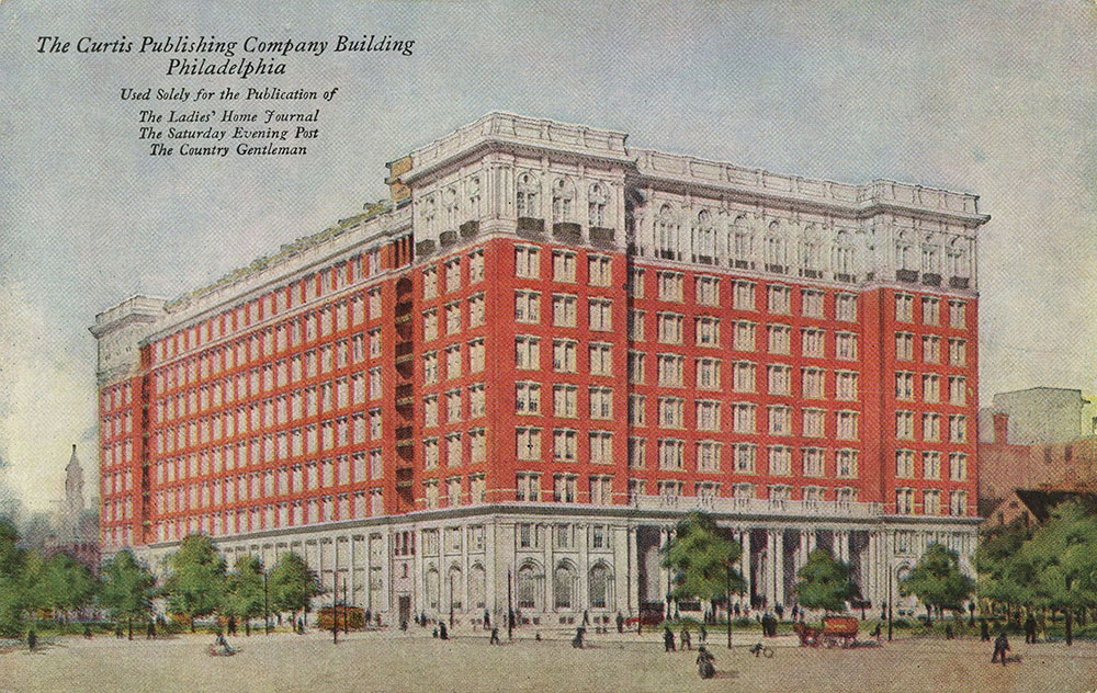 The Curtis Publishing Company Building - Postcard