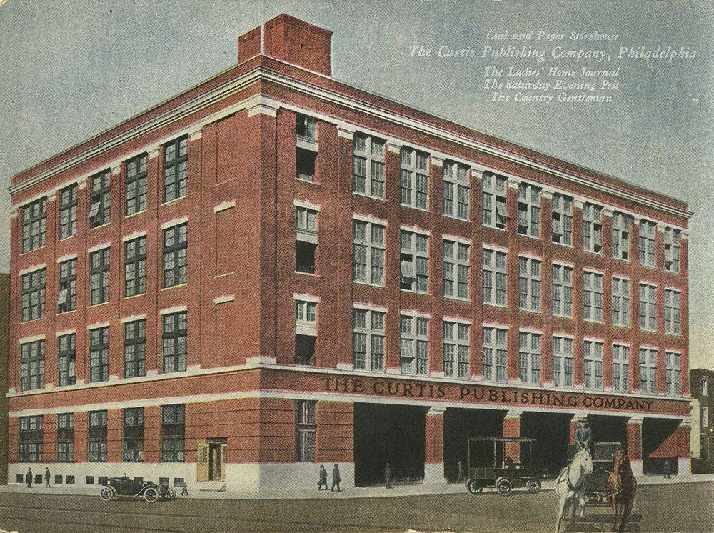 The Curtis Publishing Company - Coal & Paper Storehouse - Postcard