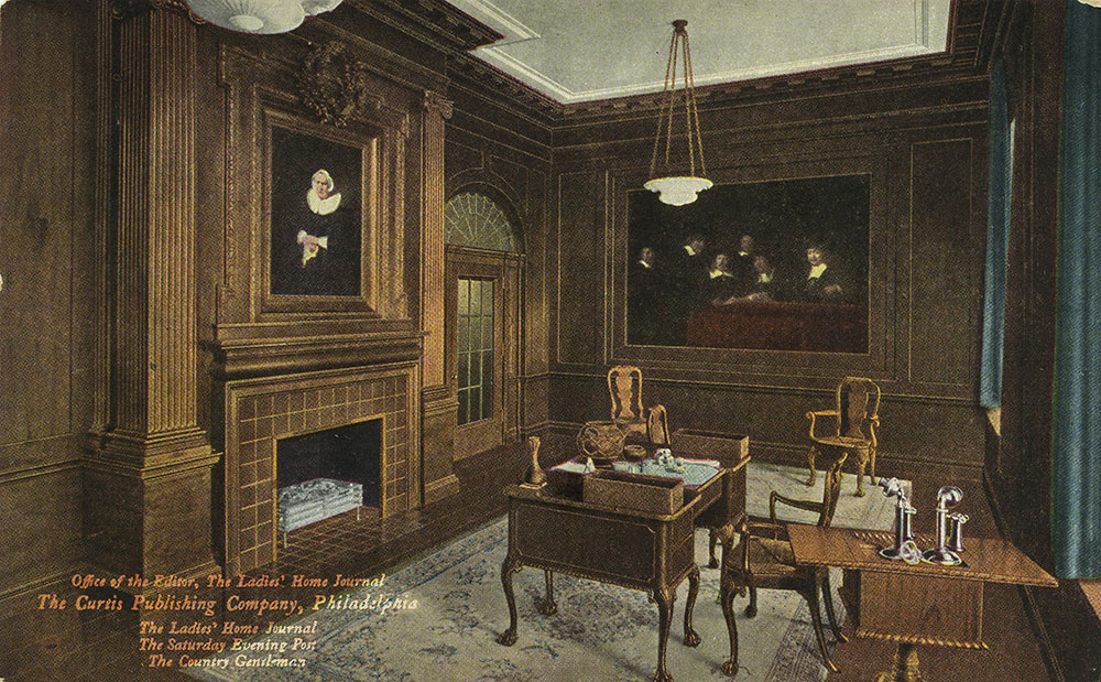 The Curtis Publishing Company - Office of the Editor - Postcard