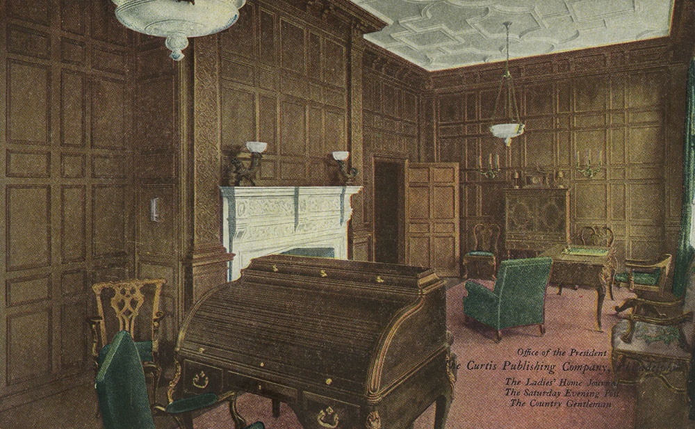 The Curtis Publishing Company - Office of the President - Postcard