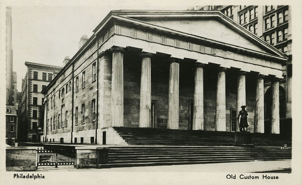 Old Custom House Postcard