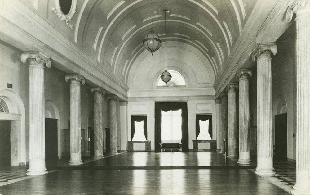 Philadelphia Custom House - Interior Postcard