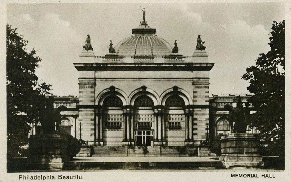 Memorial Hall - Postcard