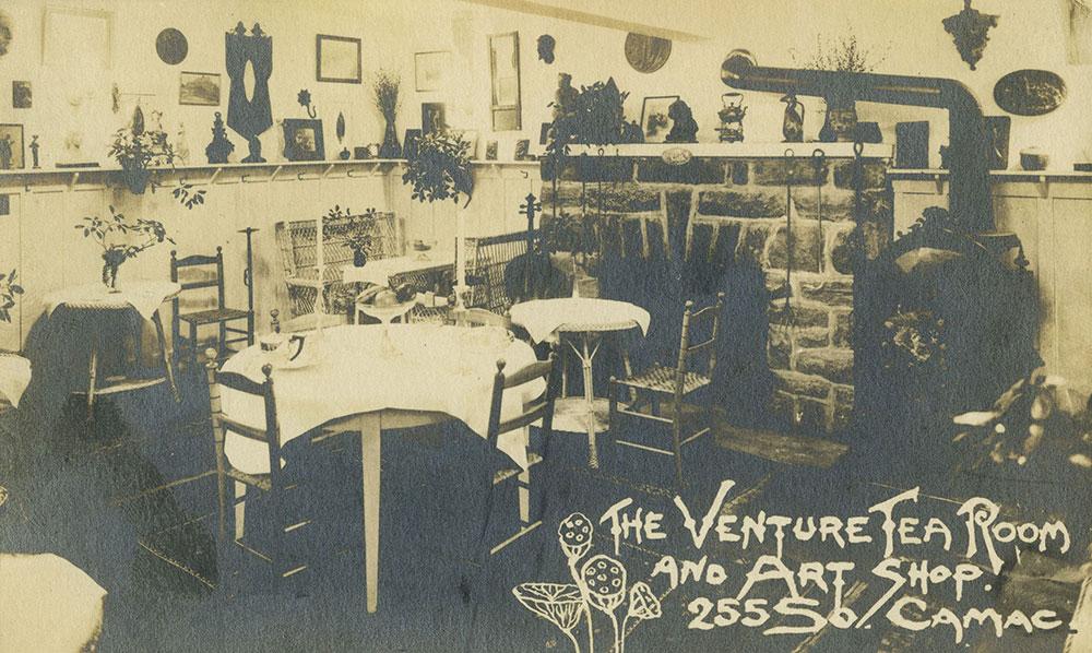 Venture Tea Room and Art Shop - Postcard