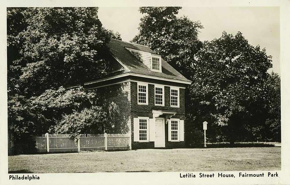 Letitia Street House - Postcard