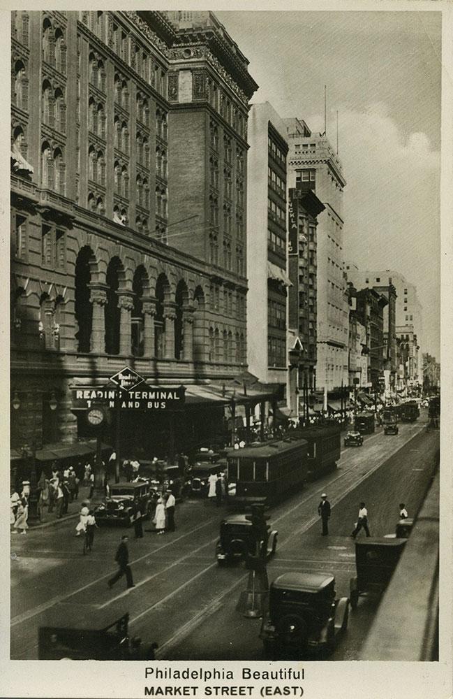 Market Street East - Postcard