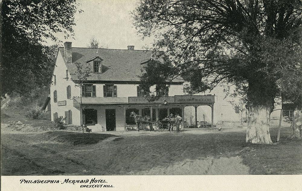 Mermaid Hotel - Postcard