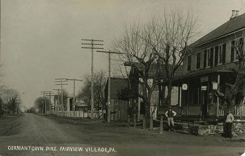 Germantown Pike - Postcard