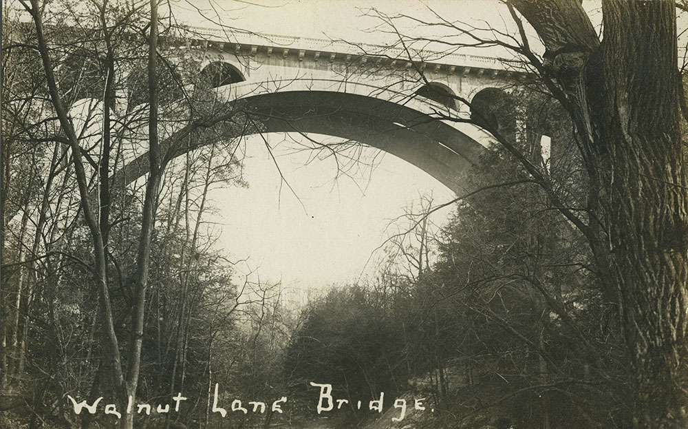Walnut Lane Bridge - Postcard