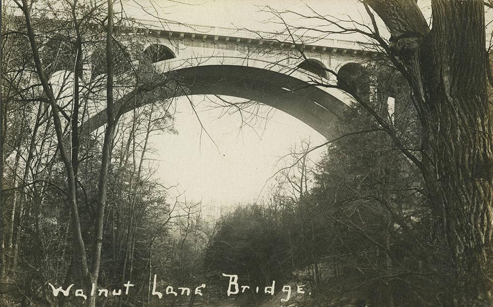 Walnut Lane Bridge - Postcard