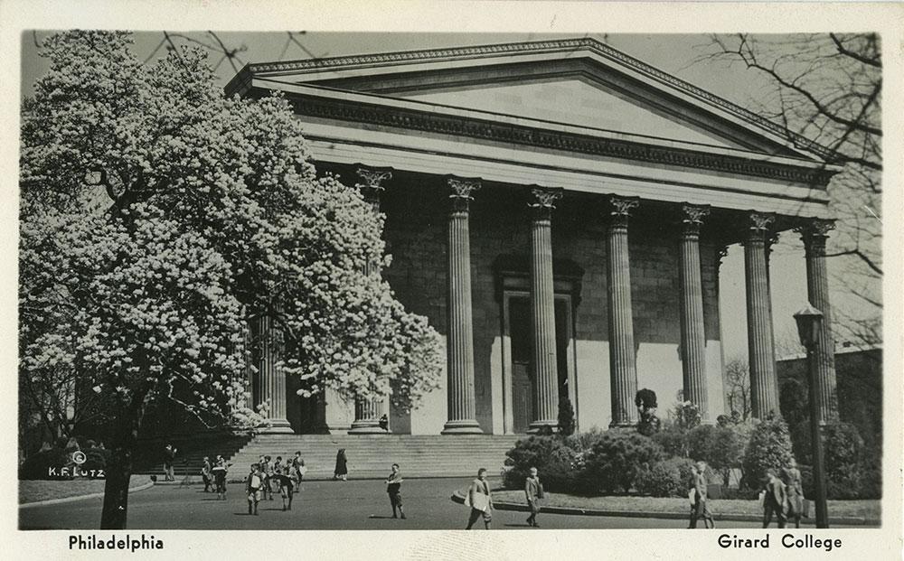 Girard College - Postcard