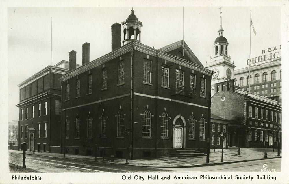 Old City Hall - Postcard