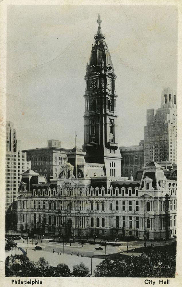 City Hall - Postcard