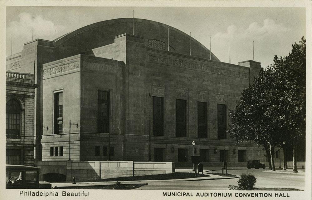 Convention Hall - Postcard