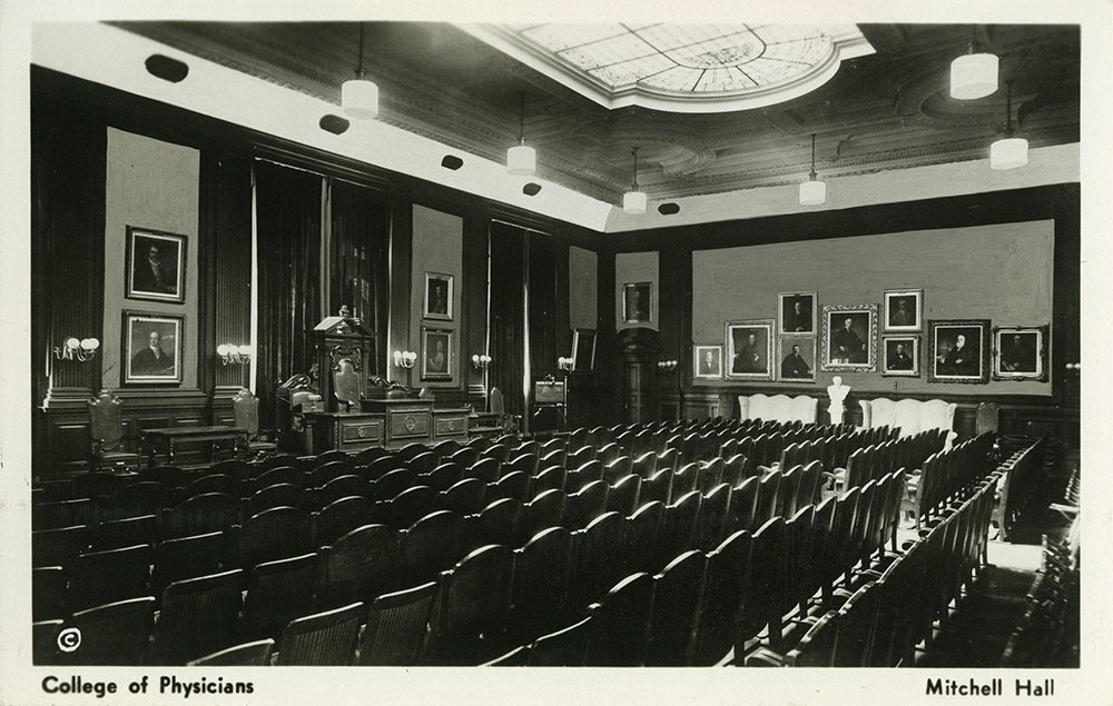 Mitchell Hall - Postcard