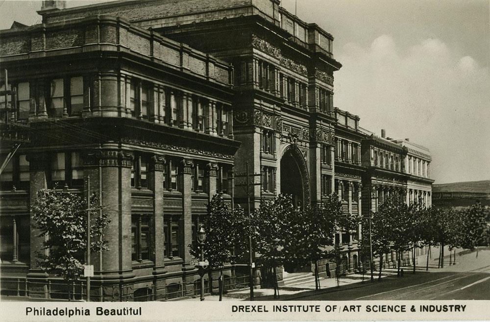 Drexel Institute - Postcard