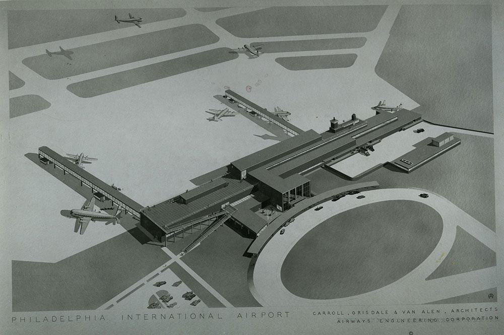 Philadelphia International Airport - Terminal Plan