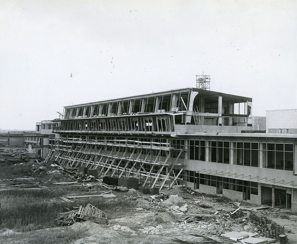 Construction of Terminal - Philadelphia International Airport