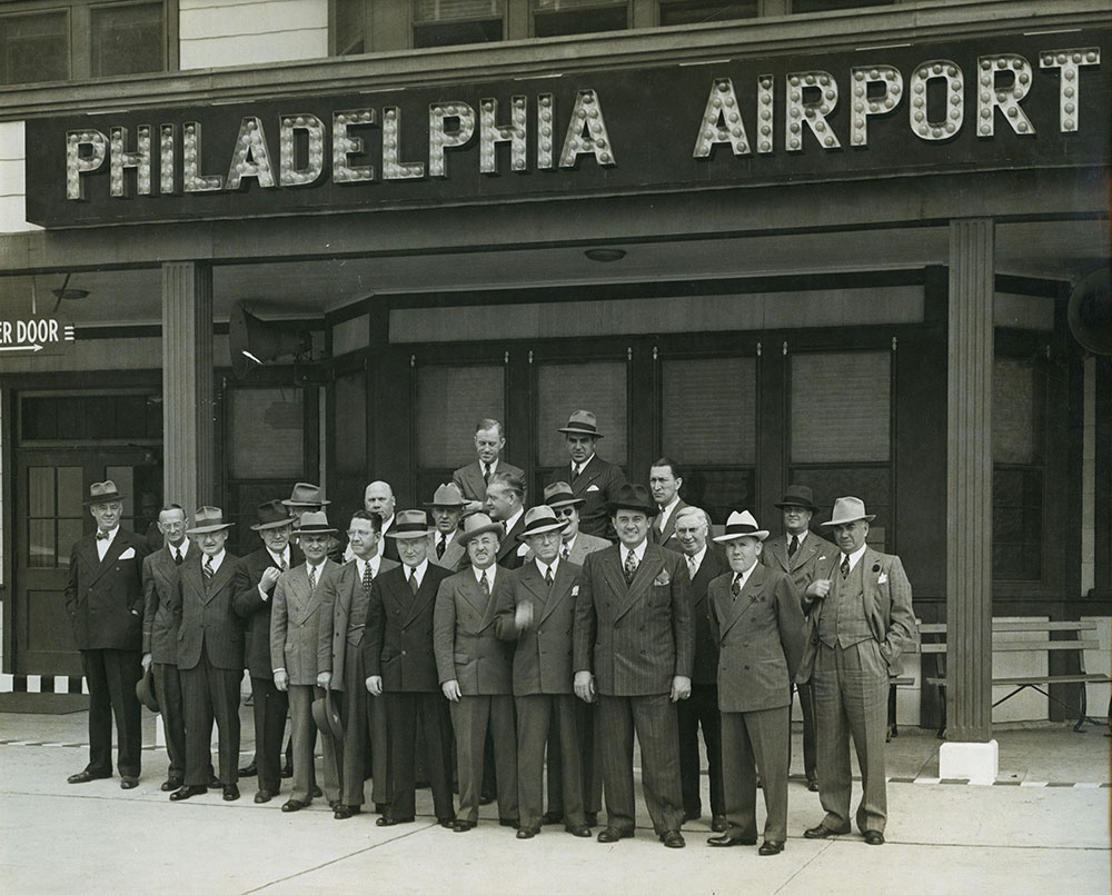 Chicago City Officials at Philadelphia Airport