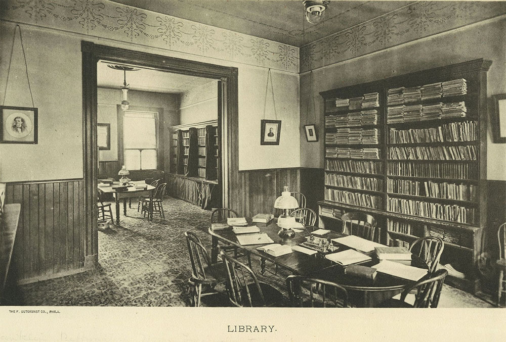 Franklin Reformatory Home for Inebriates - Library