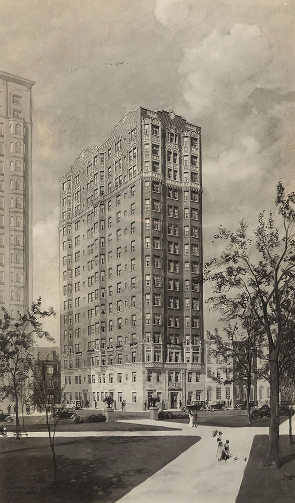 1900 Rittenhouse Square Apartments - Architectural Drawing