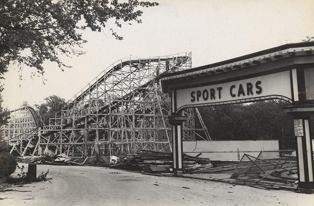 Woodside Amusement Park - Demolition