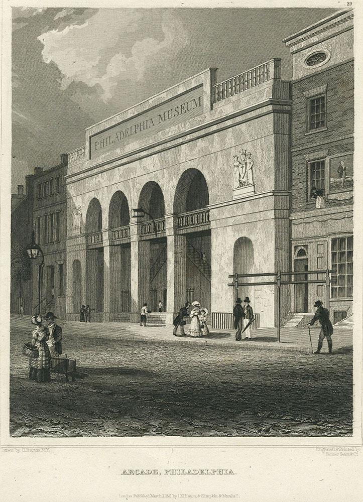 Philadelphia Arcade / Philadelphia Museum