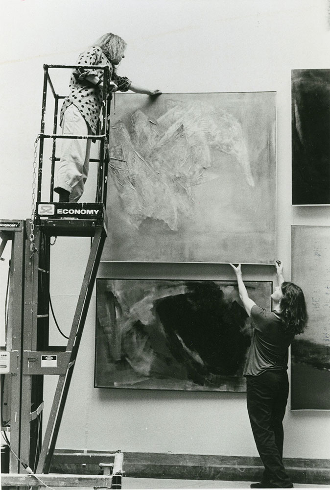 Art Exhibition - Pennsylvania Academy of Fine Arts - Installation