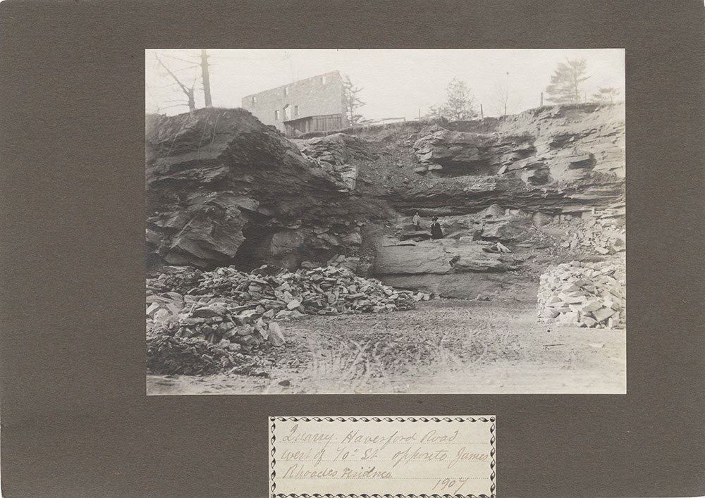 Haddington - Eckfeldt Collection, E. 2, Bridges, quarries, dams, No. 52