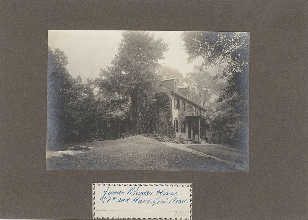 Haddington - Eckfeldt Collection, E. 9, Houses J-R, No. 169