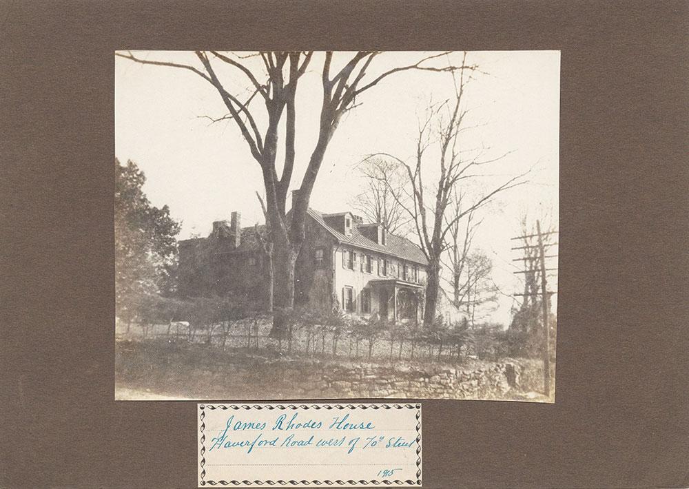 Haddington - Eckfeldt Collection, E. 9, Houses J-R, No. 170