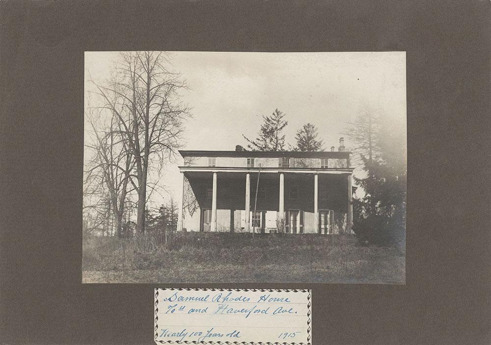 Haddington - Eckfeldt Collection, E. 9, Houses J-R, No. 172