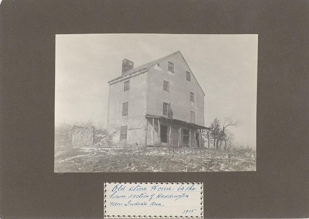 Haddington - Eckfeldt Collection, E. 14, Stone houses, No. 236
