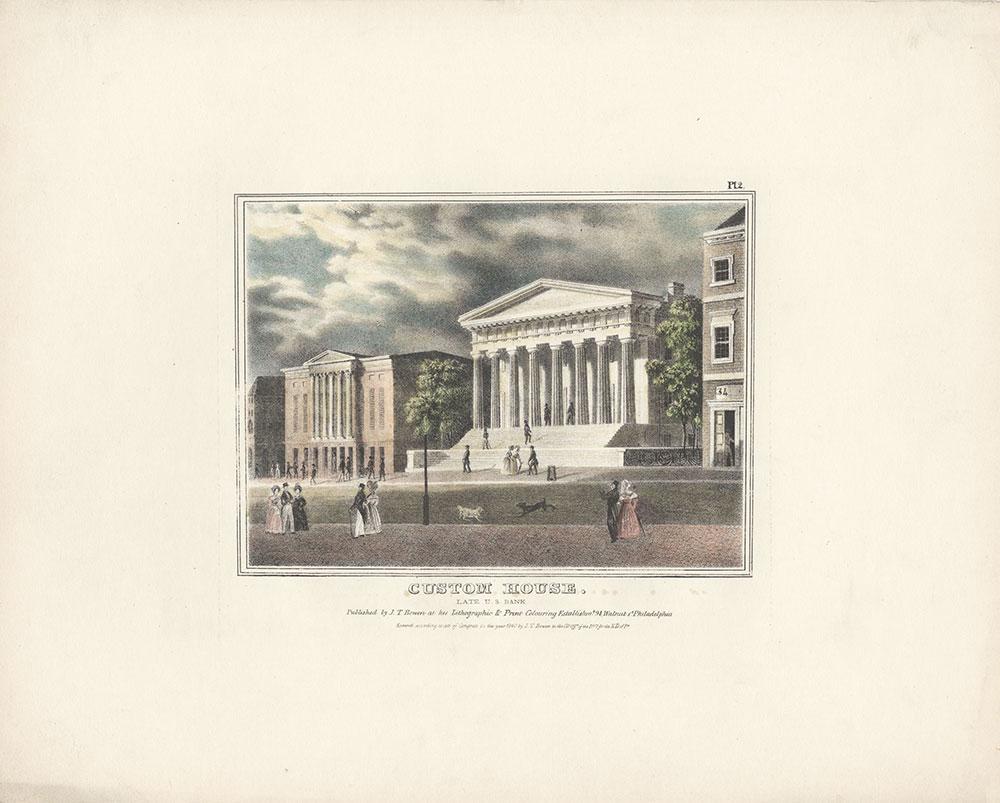 Custom House. Late U. S. Bank