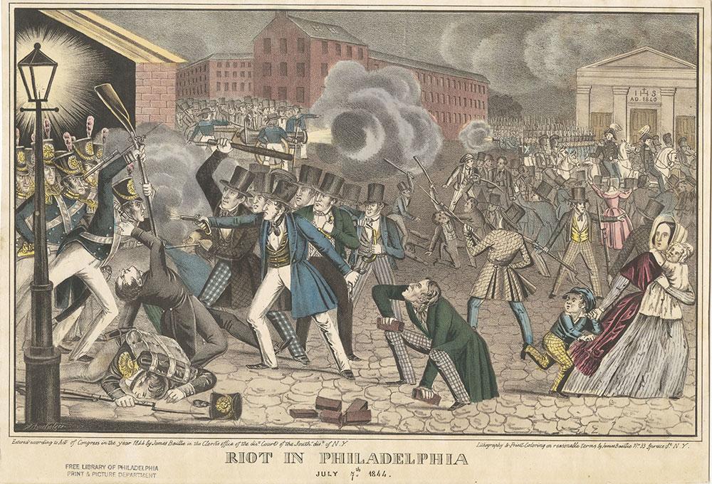 Riot in Philadelphia