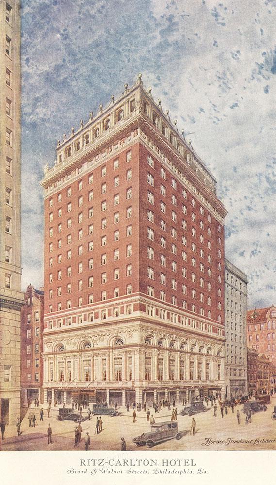 Ritz-Carlton Hotel, color rendering