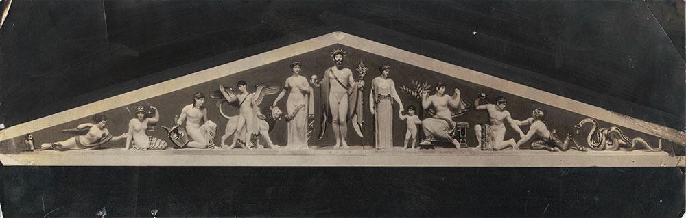 Philadelphia Museum of Art Pediment