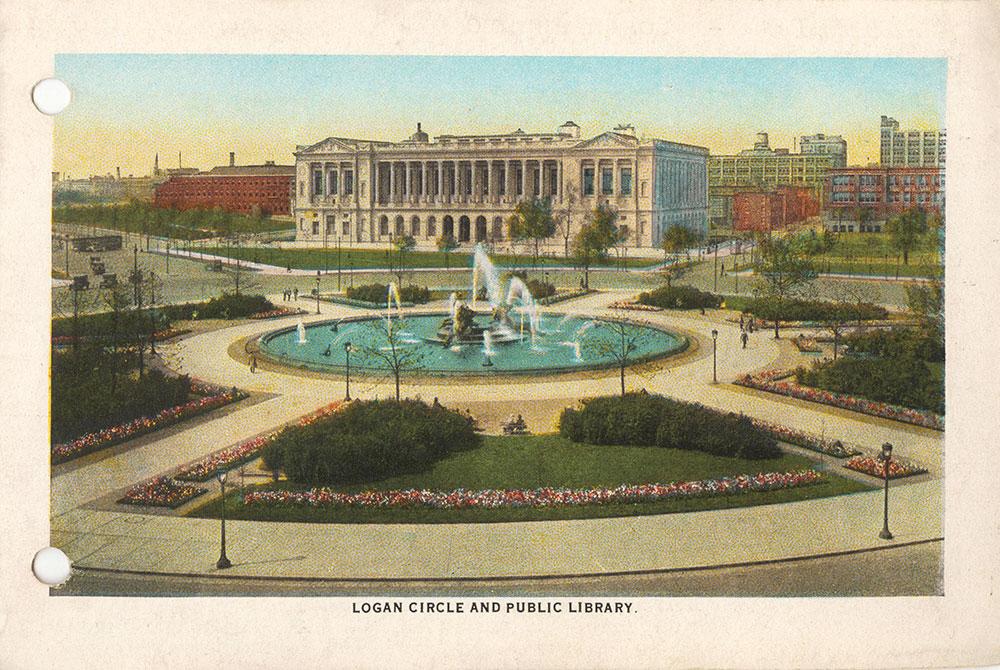 Logan Circle and Public Library