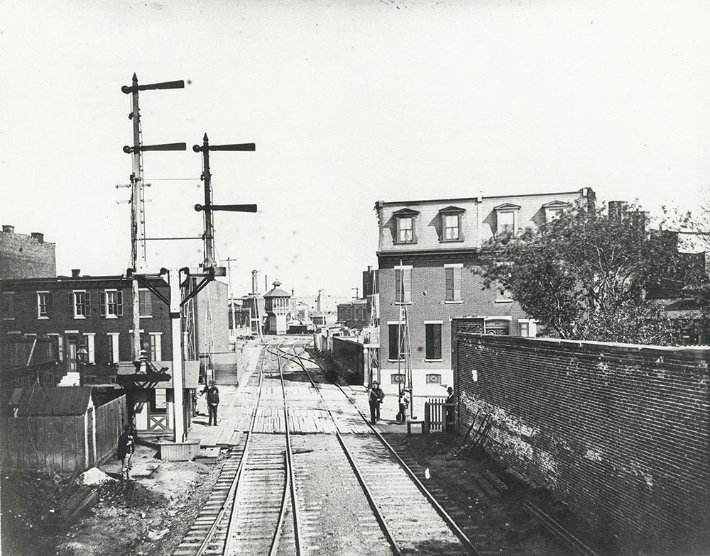 Pennsylvania Railroad Arsenal Bridge Line