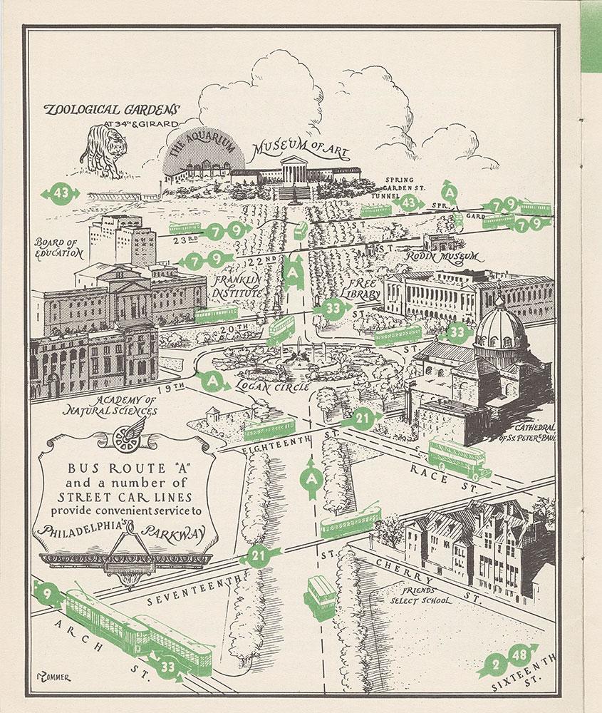 Philadelphia Rapid Transit Co. Map
