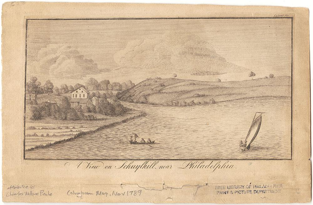 A View on Schuylkill, near Philadelphia