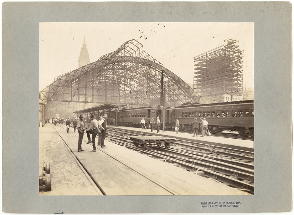 Broad Street Station after fire