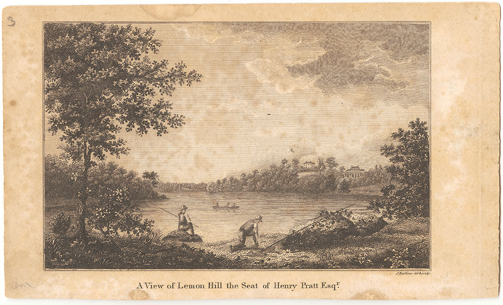 A View of Lemon Hill the Seat of Henry Pratt, Esq.