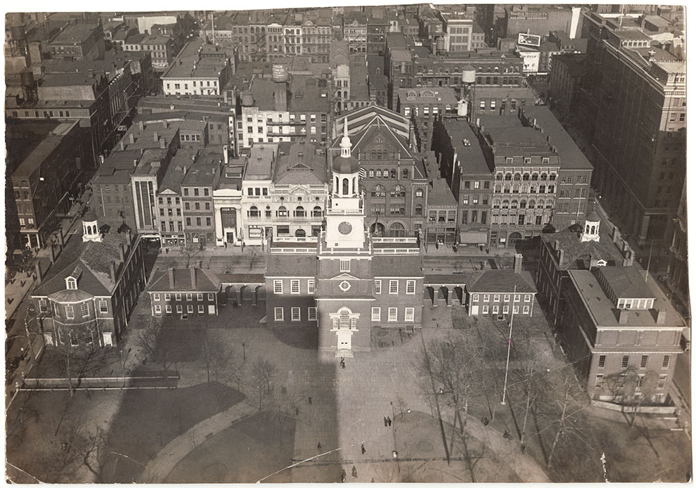 Independence Hall from New Angle