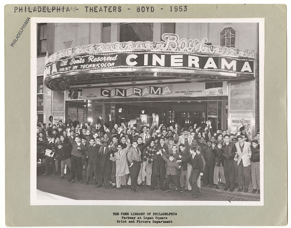 Boyd Theatre, 1953