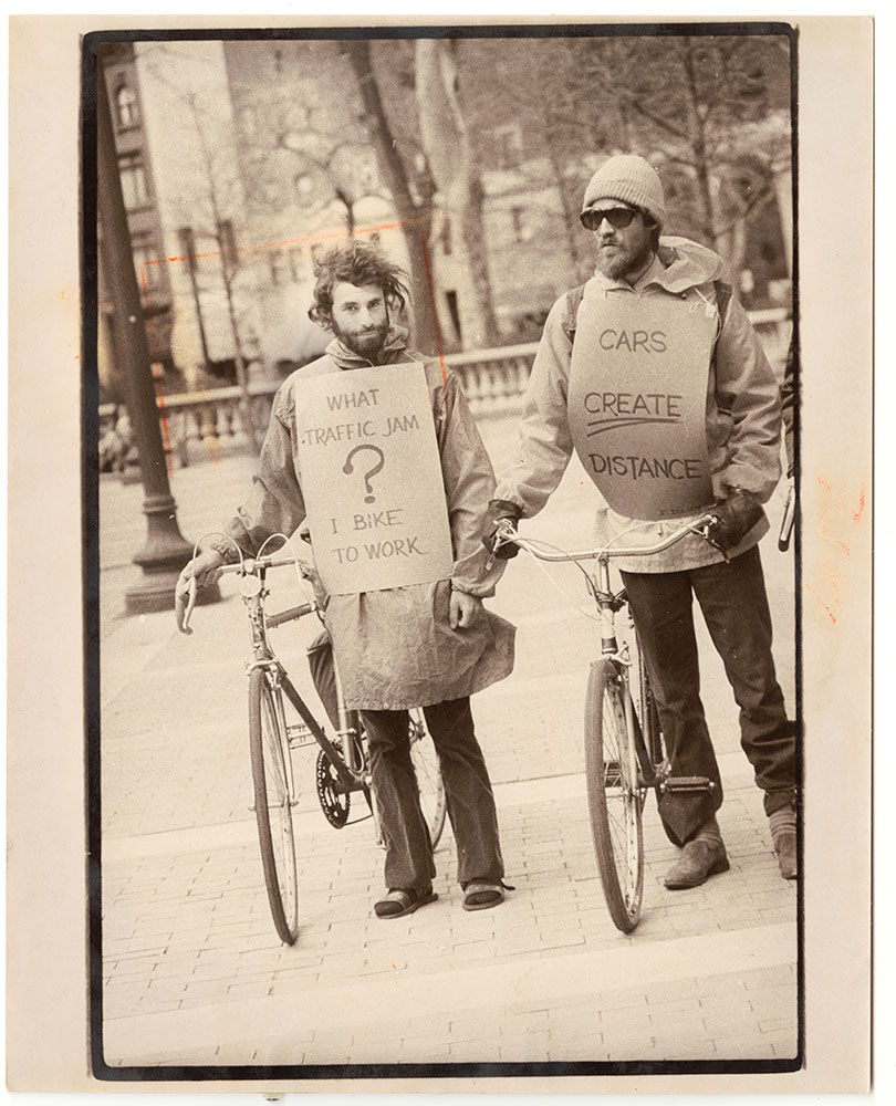 1977 Bicycle Demonstration