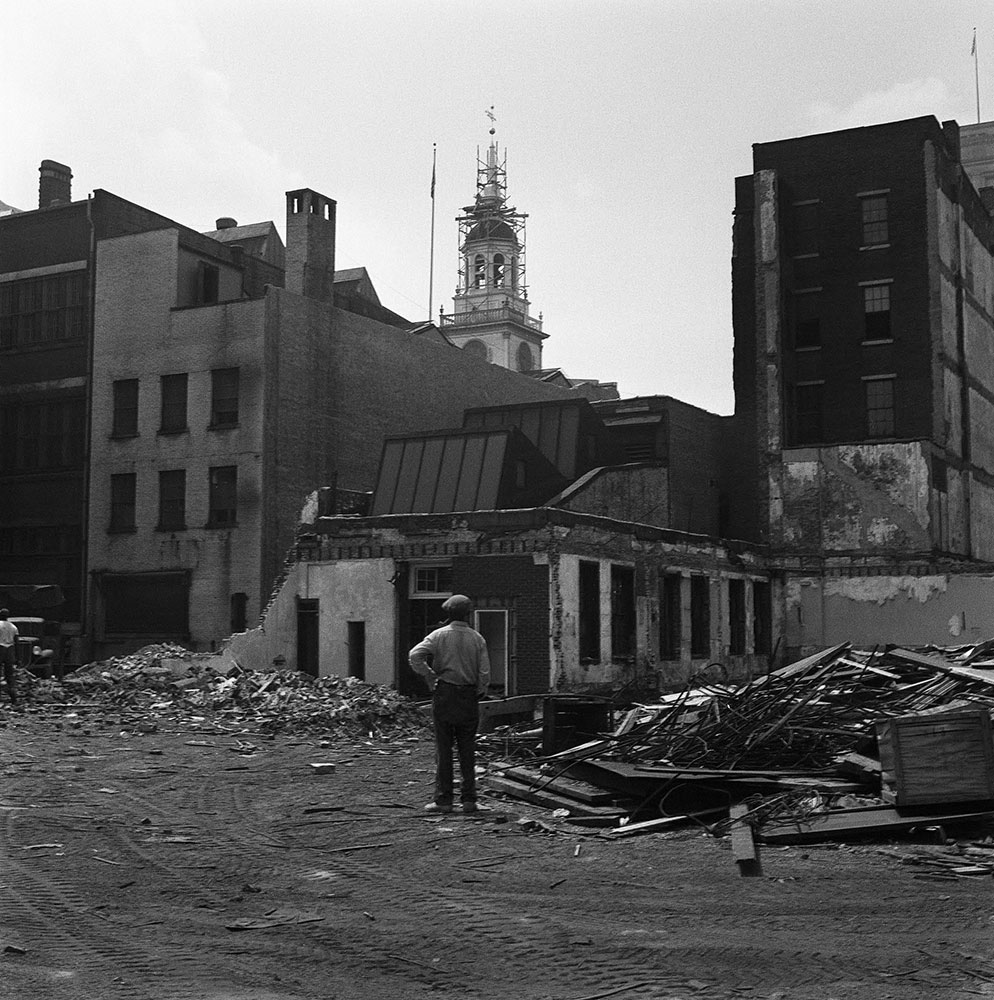 Independence Mall Construction #1